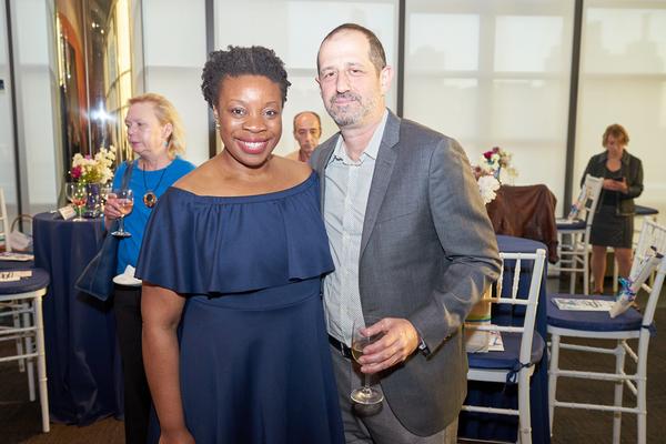 Mfoniso Udofia, Ethan Lipton Photo