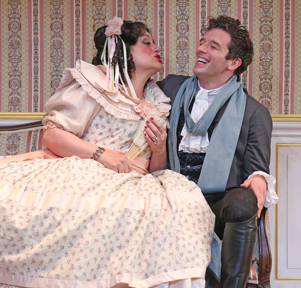 Mary Testa and Michael Urie