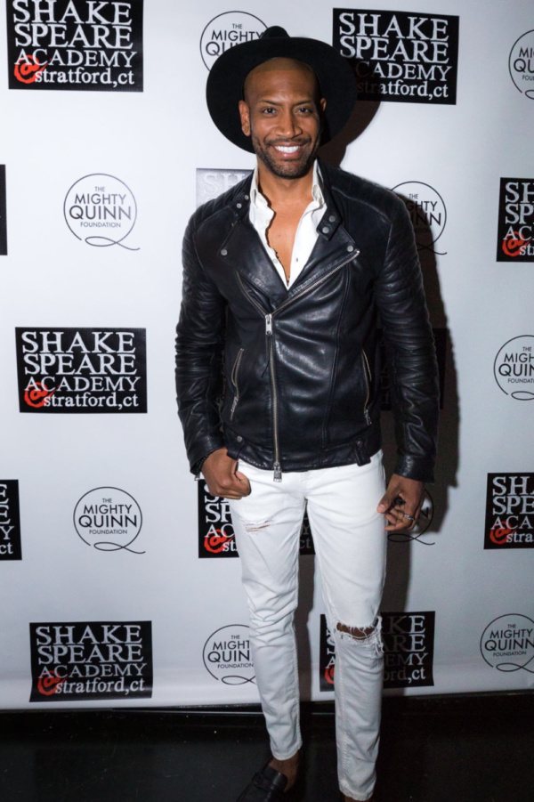 Photo Flash: HAMILTON's Bryan Terrell Clark and More Support Shakespeare Academy at Stratford
