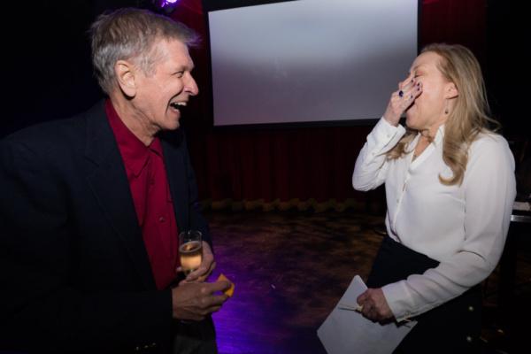 Phillip Carlson and Kathryn Meisle