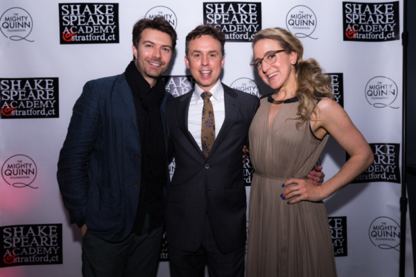 Noah Bean, Brian McManamon and Jenn Harris