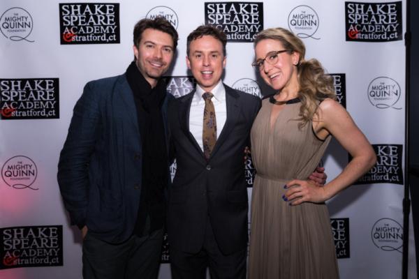 Noah Bean, Brian McManamon and Jenn Harris