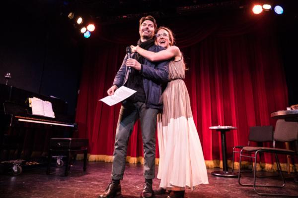 Noah Bean and Jenn Harris