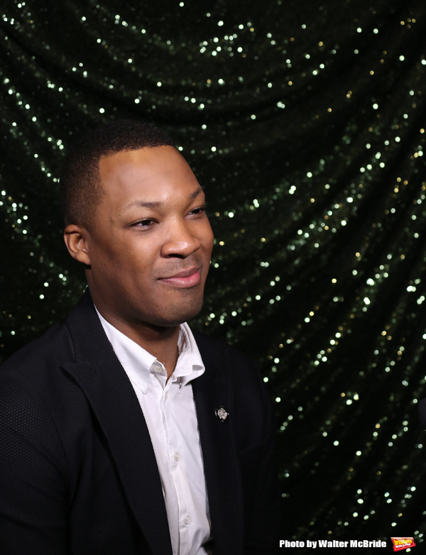 Photo Coverage: Meet the 2017 Tony Nominees - SIX DEGREES OF SEPARATION's Corey Hawkins