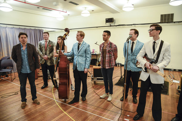 Photos: Oh, Boy! Go Inside Rehearsal with John Dewey, Hunter Foster and More for BCP & Kimmel Center's BUDDY: THE BUDDY HOLLY STORY