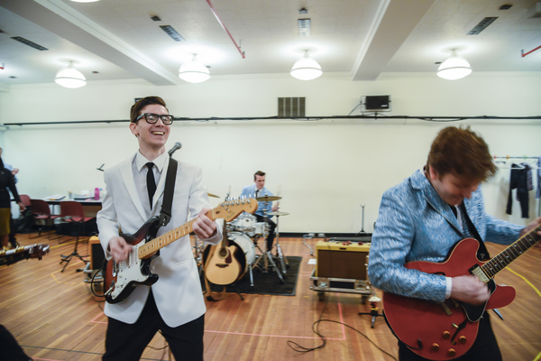 Photo Flash: Oh, Boy! Go Inside Rehearsal with John Dewey, Hunter Foster and More for BCP & Kimmel Center's BUDDY: THE BUDDY HOLLY STORY
