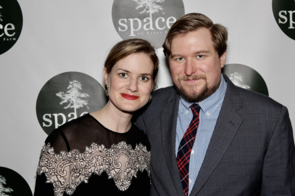 Emily Simoness and Michael Chernus