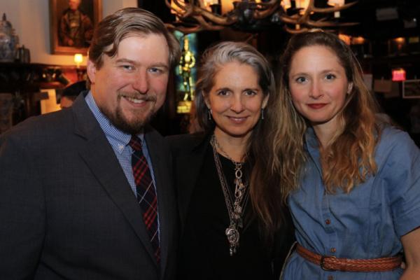 Michael Chernus, Christine Jones & Therese Barbato