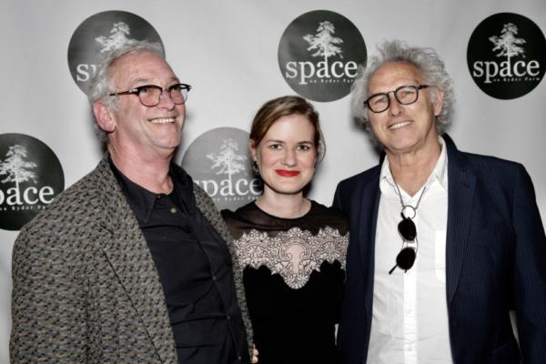 Robbie Stein, Emily Simoness & Eric Fischl  Photo