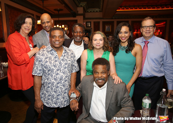 Lynne Meadow, Ruben Santiago-Hudson, Ray Athony Thomas, John Douglas Thompson,  Constanza Romero Wilson, Harvy Blanks, Carra Patterson and Barry Grove
