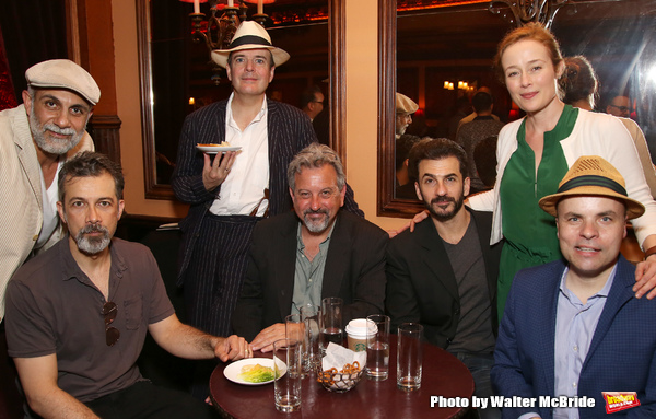 Anthony Azizi, Dariush Kashani, Jefferson Mays, Jeff Still, Michael Aronov, and Jennifer Ehle and J.T. Rogers