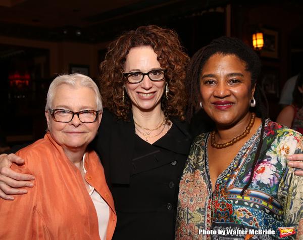 Paula Vogel, Rebecca Taichman and Lynn Nottage