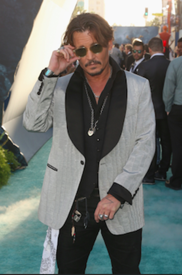 Photo Flash: Johnny Depp & More Attend PIRATES OF THE CARIBBEAN: DEAD MEN TELL NO TALES L.A. Premiere