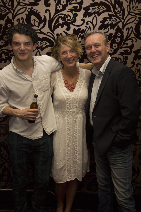 Edward Bluemel, Eve Best and Anthony Head