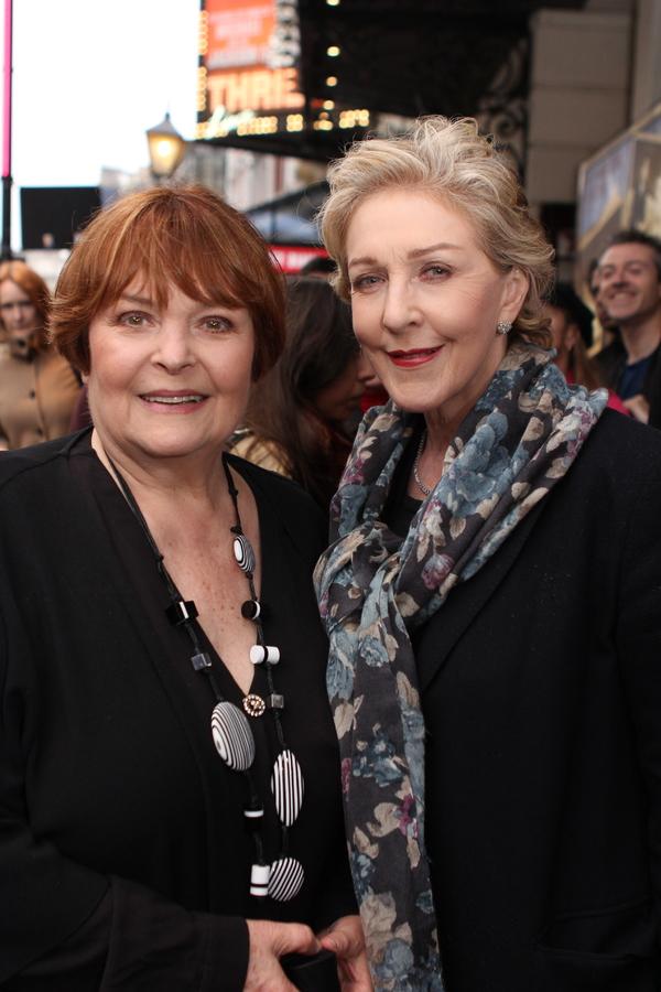Isla Blair and Patricia Hodge