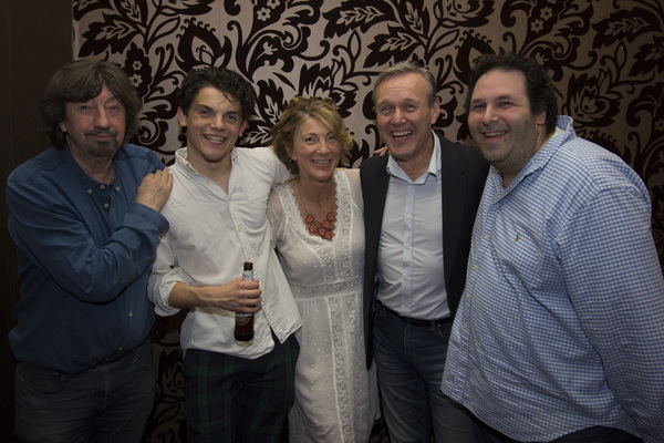 Trevor Nunn, Edward Bluemel, Anthony Head and David Babani Photo