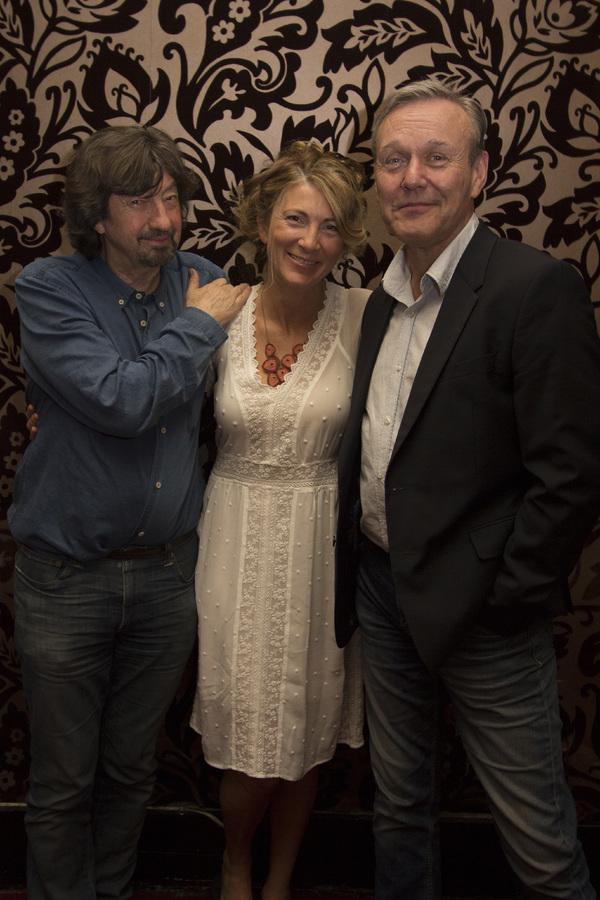 Trevor Nunn, Eve Best and Anthony Head