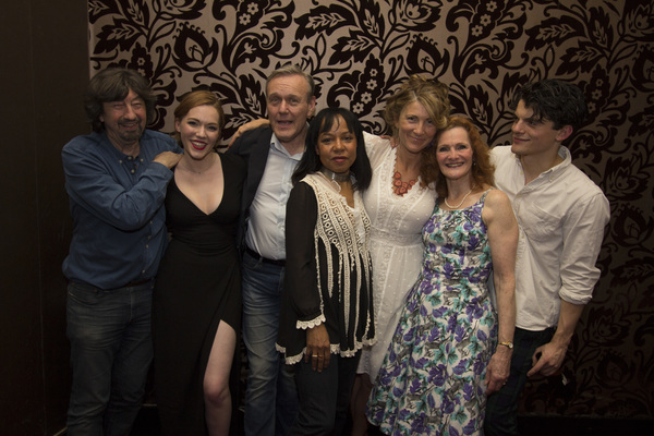 Trevor Nunn (director) and the cast of LOVE IN IDLENESS