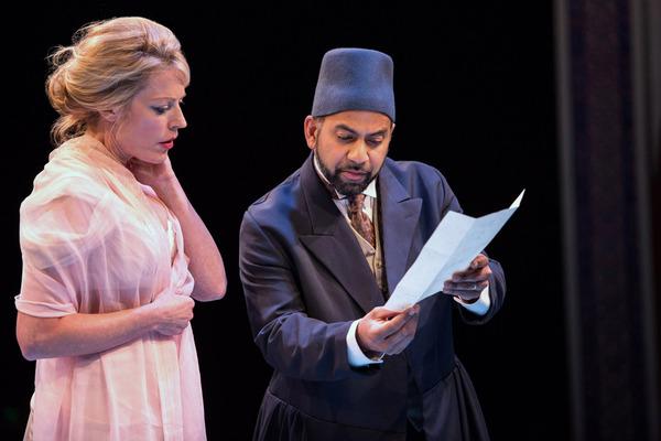 Sherie Rene Scott and Ajay Naidu