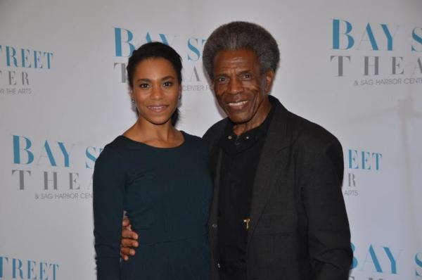 Kelly McCreary and Andre De Shields