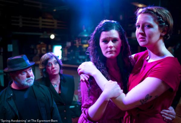 Monk Schane-Lydon, Gigi Teeley, Diana Quetti and Caitlin Teeley