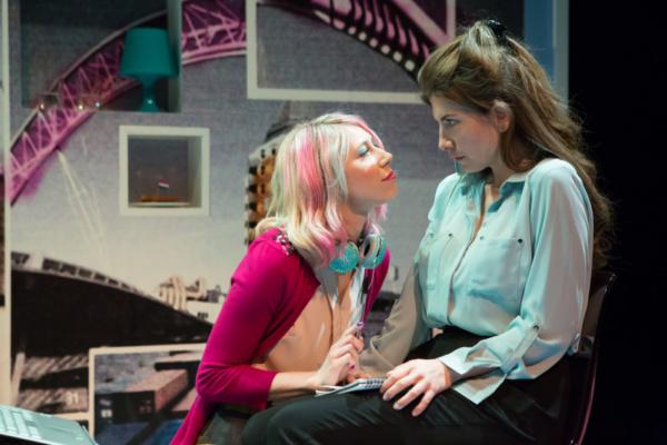 Ellie Morris and Alice McCarthy