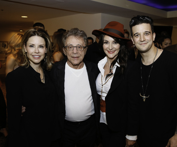 Jackie Jacobs, Frankie Valli, Shirley Ballas and Mark Ballas