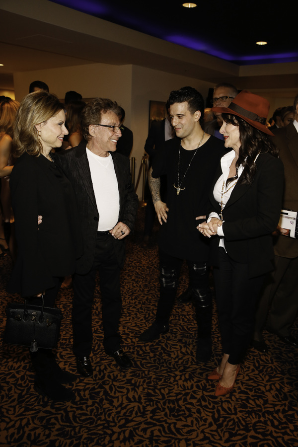 Jackie Jacobs, Frankie Valli, cast member Mark Ballas and Shirley Ballas