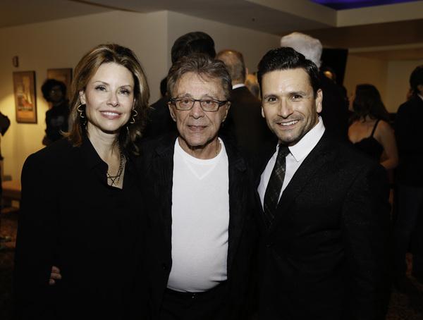 Jackie Jacobs, Frankie Valli and Aaron De Jesus