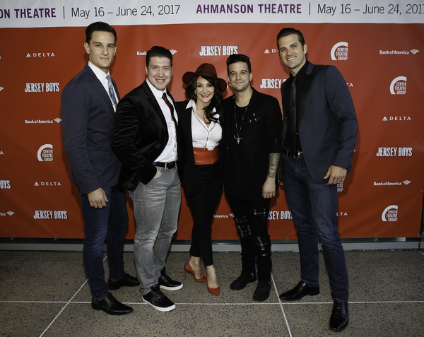 Cory Jeacoma and Matthew Dailey, Shirley Ballas and Mark Ballas and Keith Hines