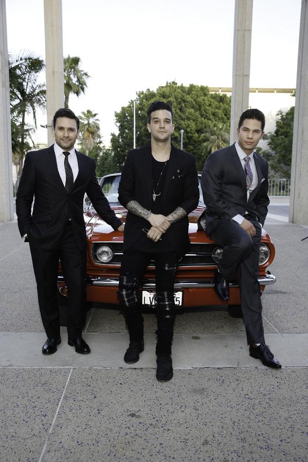 Cast members Aaron De Jesus, Mark Ballas and Miguel Jarquin-Moreland