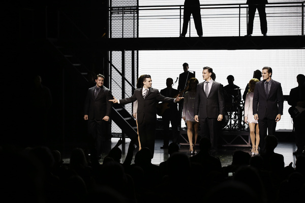 Matthew Dailey, Mark Ballas, Cory Jeacoma and Keith Hines