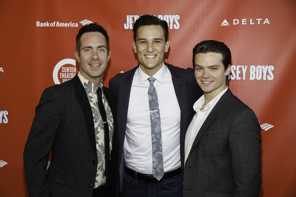 Cast members Austin Owen, Cory Jeacoma and Andrew Russell
