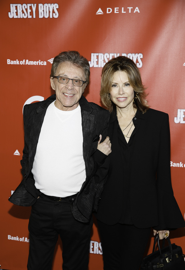 Frankie Valli and Jackie Jacobs