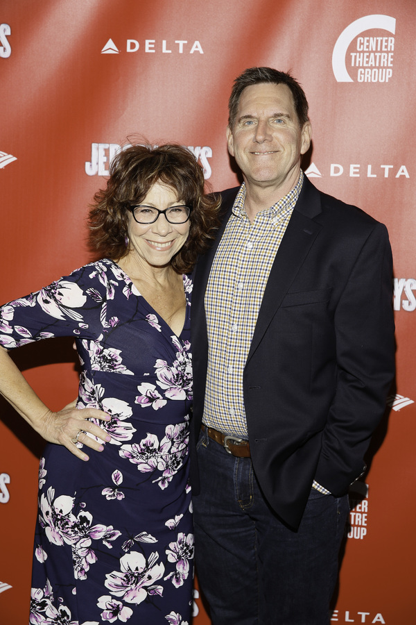 Mindy Sterling and Tim Bagley