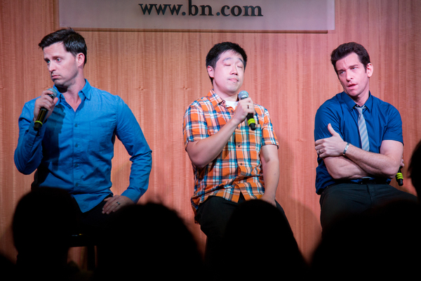 Andrew Call, Raymond J. Lee, Andy Karl