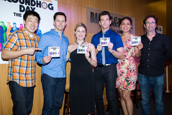 Photo Coverage: GROUNDHOG DAY Celebrates Cast Recording Release with In-Store Appearance at Barnes and Noble