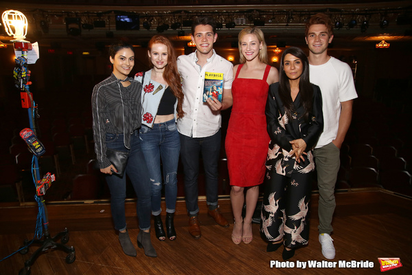 Photos: Cast of Teen Drama RIVERDALE Visits Broadway's BANDSTAND
