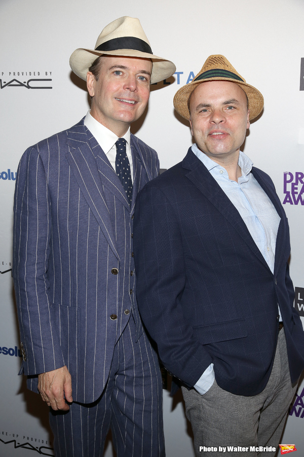 Jefferson Mays and  J.T. Rogers