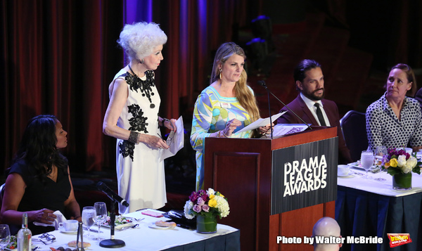 Audra McDonald, Jano Herbosch, Bonnie Comley,  Will Swenson and Laurie Metcalf  Photo