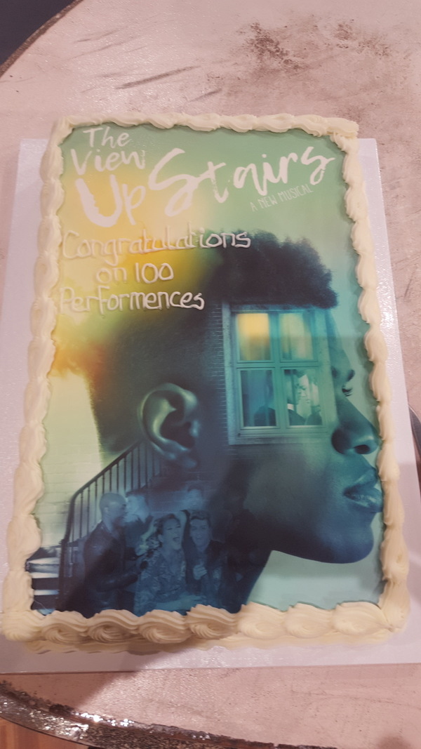Photo Coverage: THE VIEW UPSTAIRS Celebrates 100th Performance
