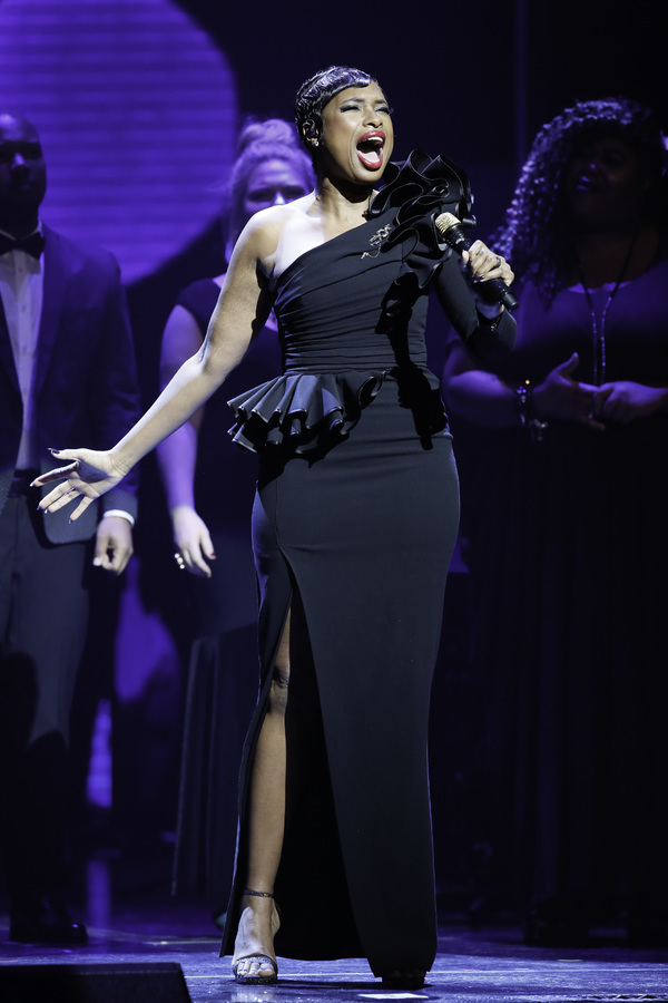 Jennifer Hudson performs during Center Theatre Group's 50th Anniversary Celebration at the Ahmanson Theatre on Saturday, May 20, 2017, in Los Angeles, California. (Photo by Ryan Miller/Capture Imaging)