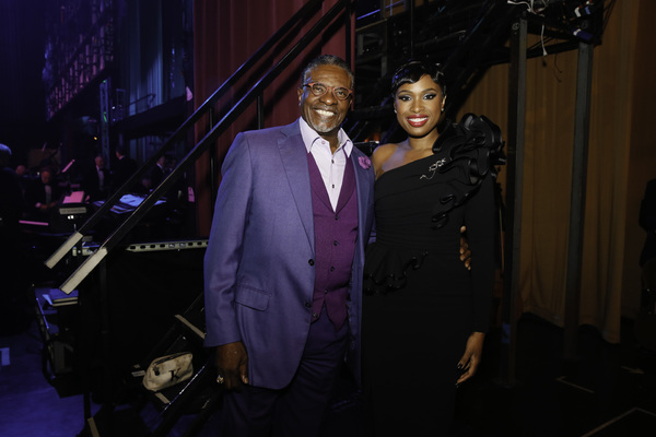 Keith David and Jennifer Hudson