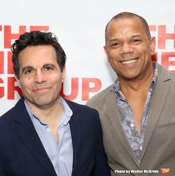 Mario Cantone and Jerry Dixon