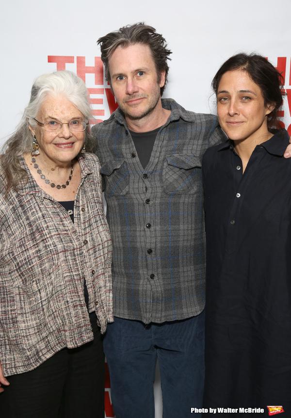 Lois Smith, Josh Hamilton and Lily Thorne