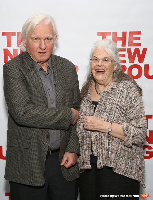David Rabe and Lois Smith