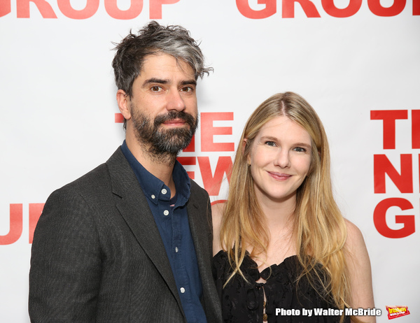 Hamish Linklater and Lily Rabe
