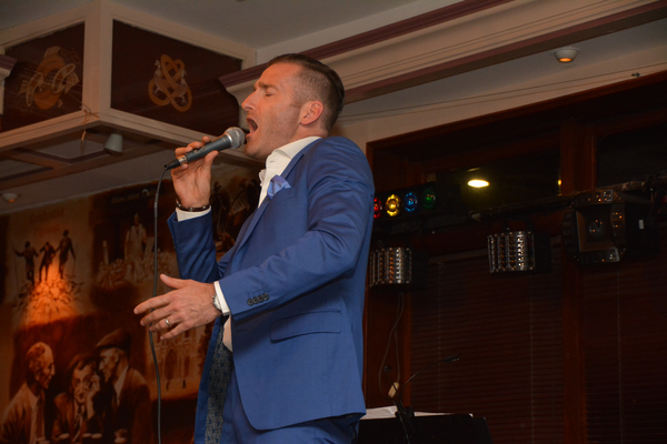 Photo Coverage: Paul Byrom Kicks off SUMMER FROM DUBLIN Tour at Rory Dolan's