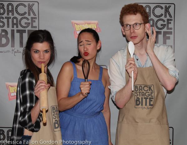 Lizzie Klemperer, Katie Lynch and Max Chernin