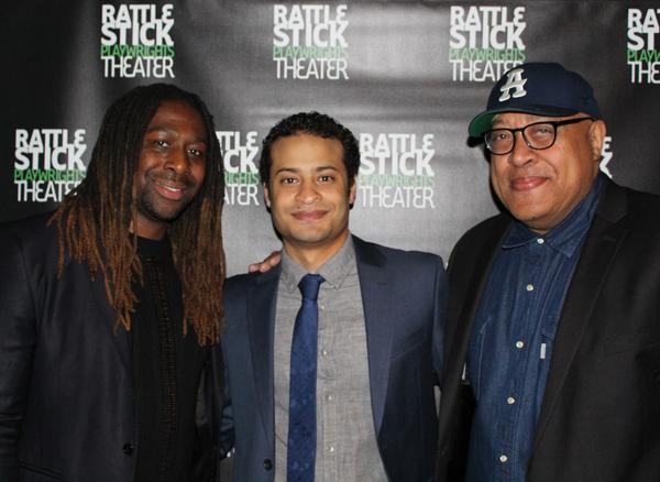James Anthony Tyler, Cesar J. Rosado and Keith Randolph Smith Photo